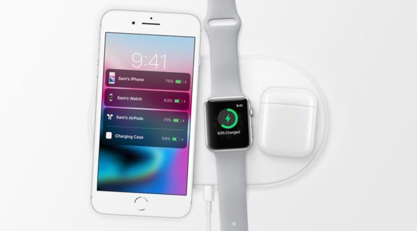 Immagine stampa di AirPower di Apple