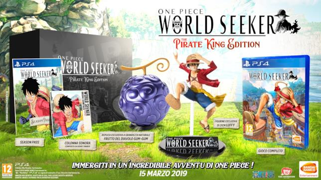 One Piece World Seeker Pirate King Edition