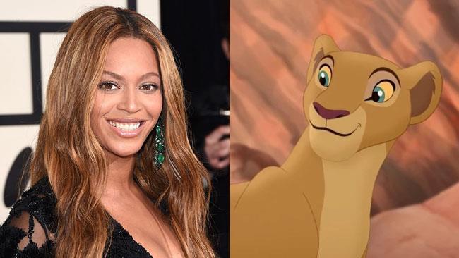 Beyoncé e la leonessa Nala