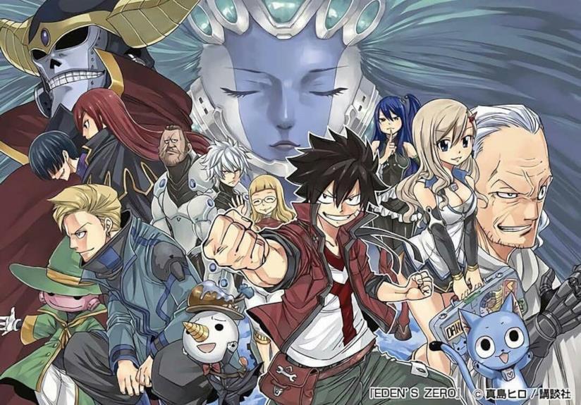 Eden's Zero i personaggi