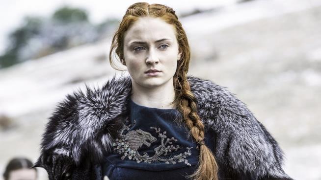 Sophie Turner, Sansa Stark in Game of Thrones