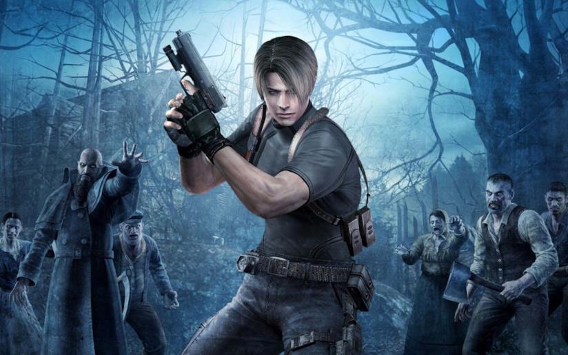 Leon Kennedy in azione in Resident Evil 4
