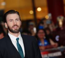 Chris Evans sul red carpet