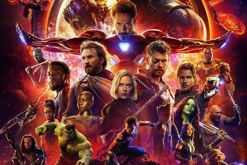 Infinity War poster ufficiale