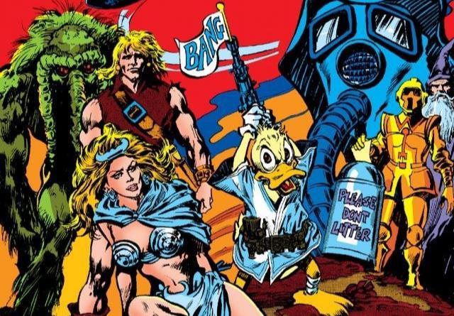 Dettaglio della cover di Howard the Duck #23