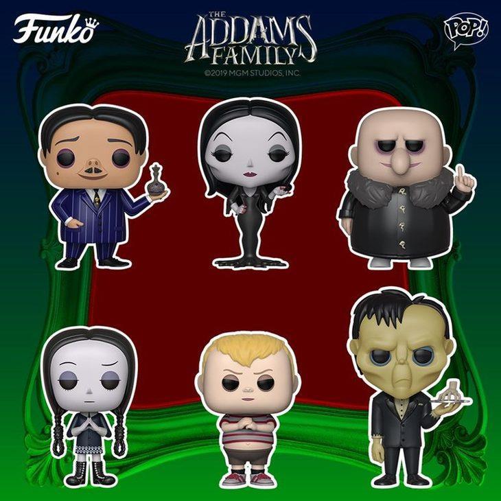 La Famiglia Addams Funko Pop!