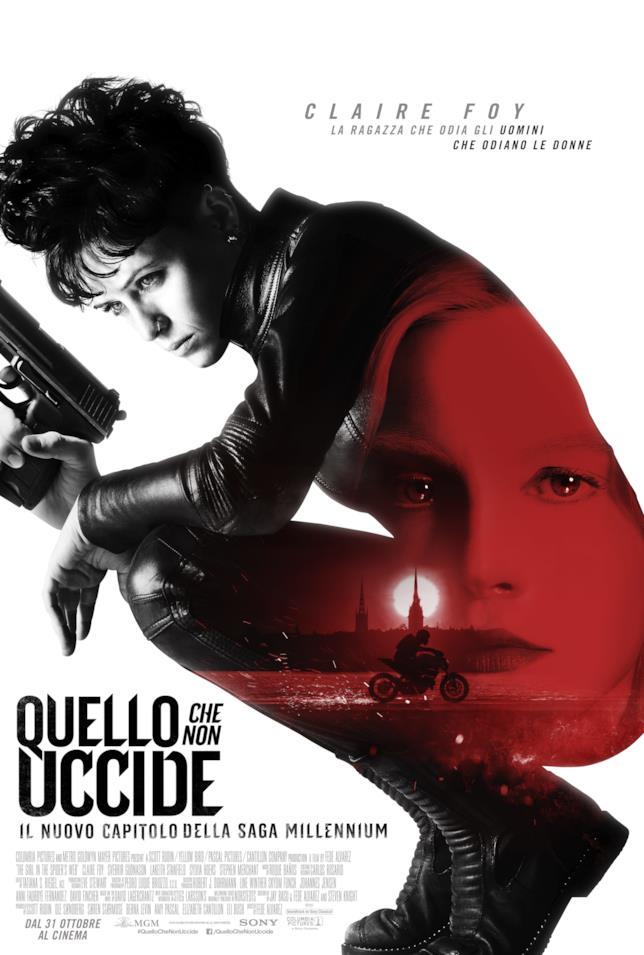 Quello che non uccide, il poster italiano del film
