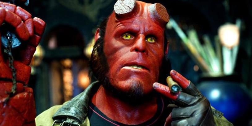 Un'immagine dal film Hellboy