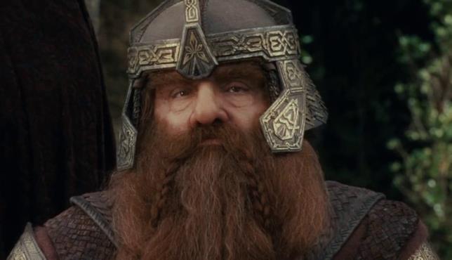 L'attore John Rhys-Davies