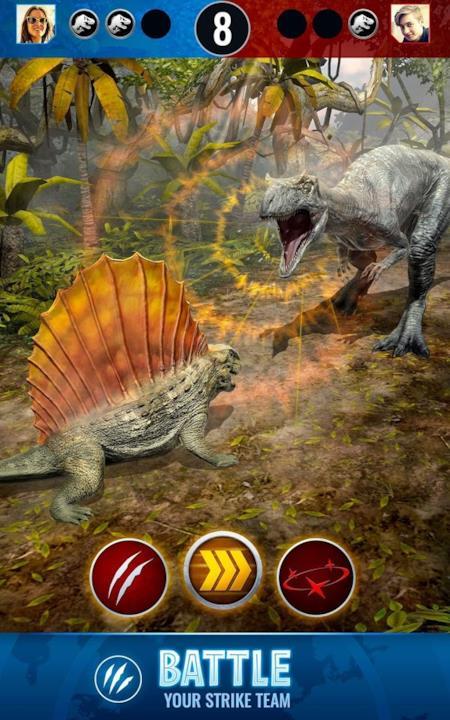 Le immagini ufficiali di Jurassic World Alive