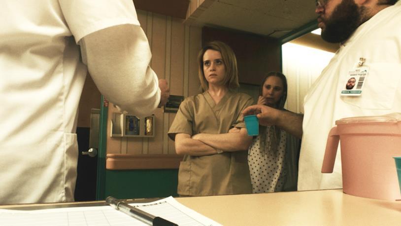 Claire Foy è una paziente psichiatrica in Unsane