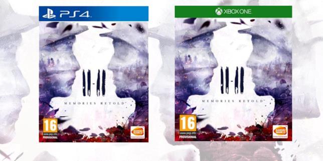 Le boxart di 11-11 Memories Retold su PS4 e Xbox One