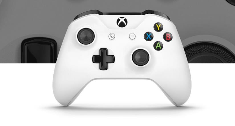 Immagine stampa del controller standard per Xbox One