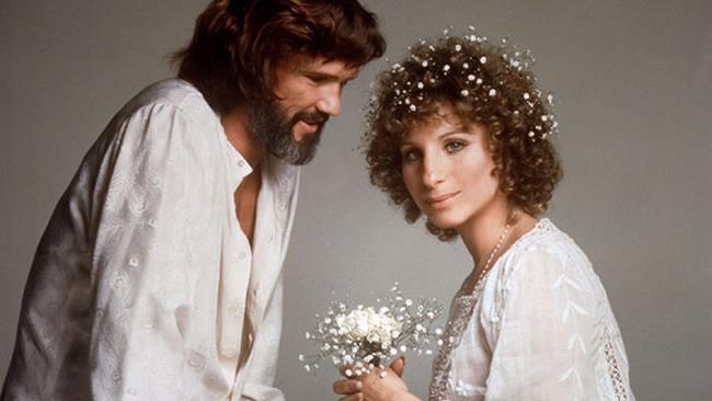 Barbra Streisand e Kris Kristofferson in È nata una stella