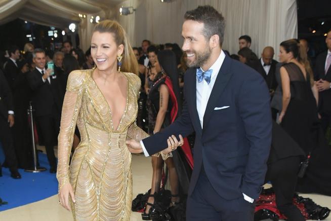 Ryan Reynolds e Blake Lively al Met Gala 2017