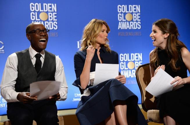 Anna Kendrick, Laura Dern e Don Cheadle pronti ad annunciare le nomination ai Golden Globes 2017