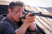 Sylvester Stallone in una scena del film Rambo: Last Blood