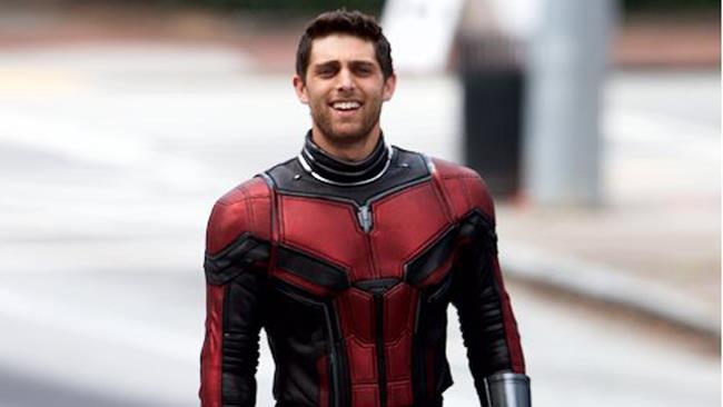 Lo stuntman avvistato sul set di Ant-Man & The Wasp