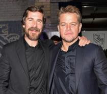 Christian Bale e Matt Damon
