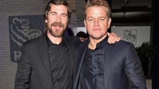 Christian Bale e Matt Damon