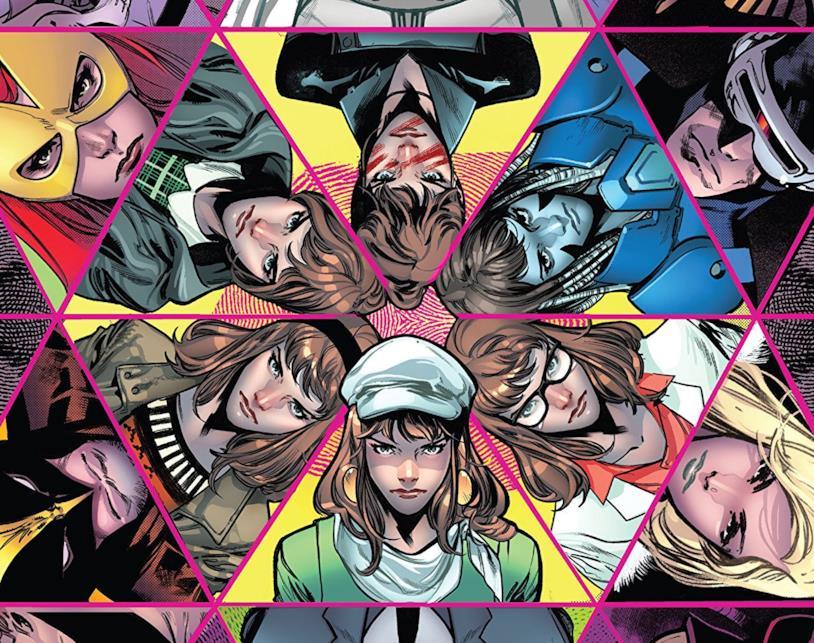 Dettaglio della cover di House of X #2