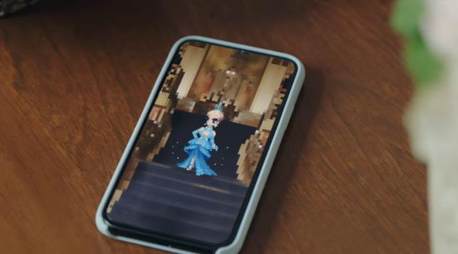Un'immagine dal trailer di Katy Perry in Final Fantasy Brave Exvius