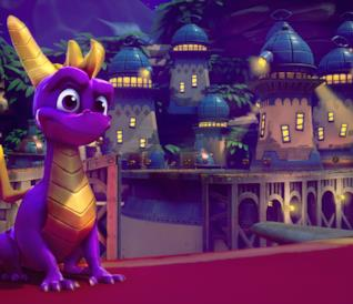 Il draghetto Spyro in Spyro Reignited Trilogy