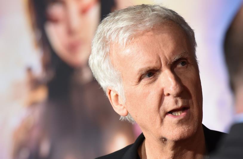James Cameron alle premiere di Alita