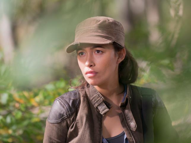 The Walking Dead: Rosita nell'episodio 6x15