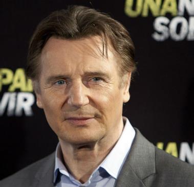 Liam Neeson presente alla premiere spagnola di Una Notte per Sopravvivere