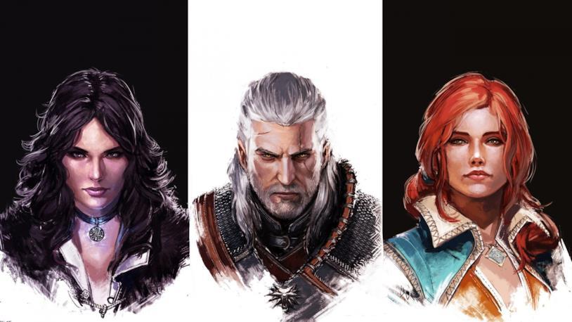 I protagonisti di The Witcher 3
