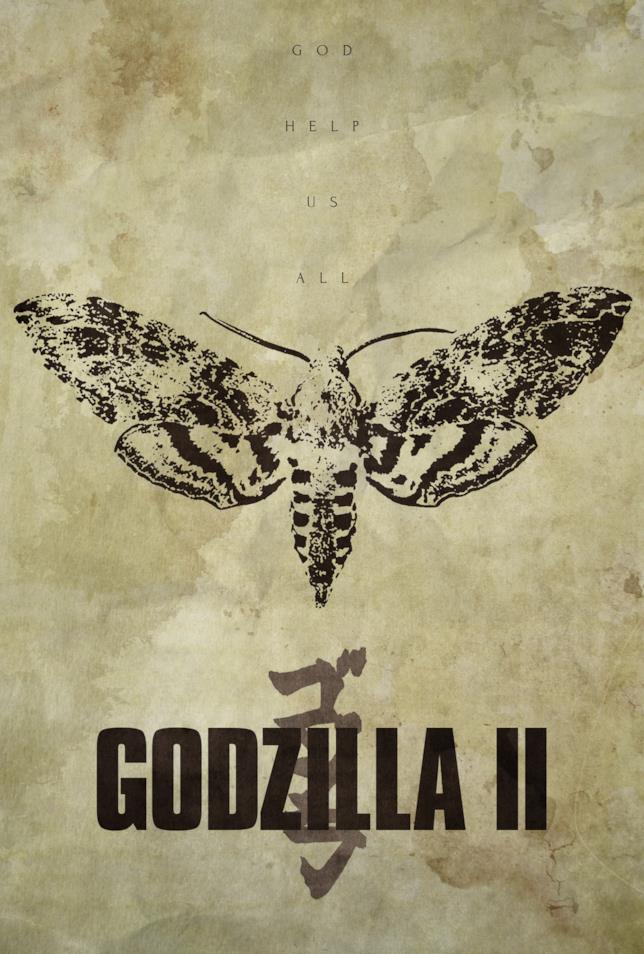 Godzilla 2: poster fan-made