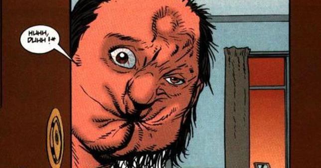 Arseface di Preacher in versione fumetto