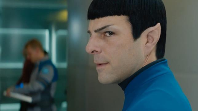 Zachary Quinto interpreta Spock