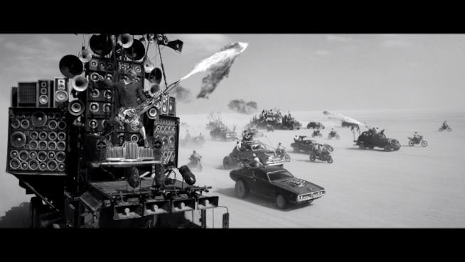 Scena di Mad Max: Fury Road, Black and Chrome