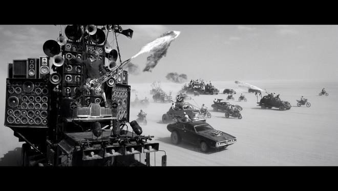 Scena di Mad Max: Fury Road, Black and Chrome