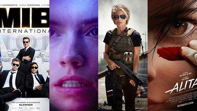 Poster e immagini di Men in Black 4, Star Wars IX, Terminator 6, Alita - Angelo della battaglia