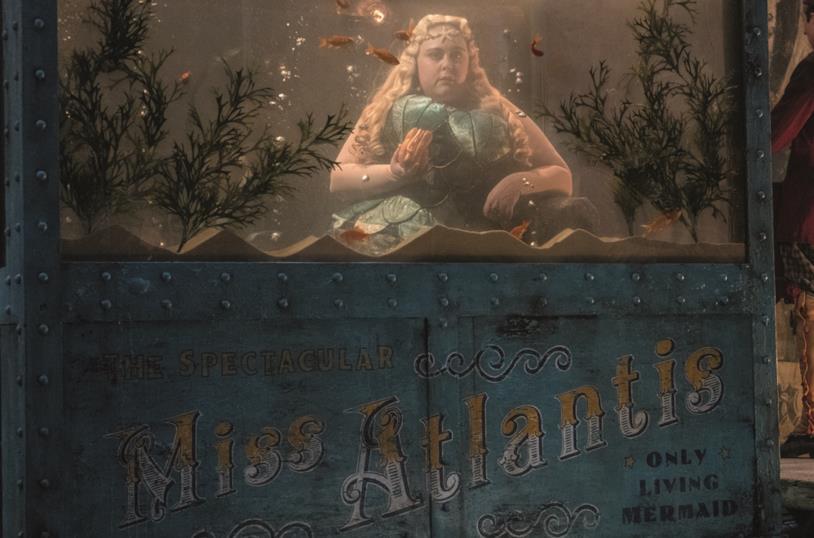 Miss Atlantis, la sirena del circo dei Fratelli Medici