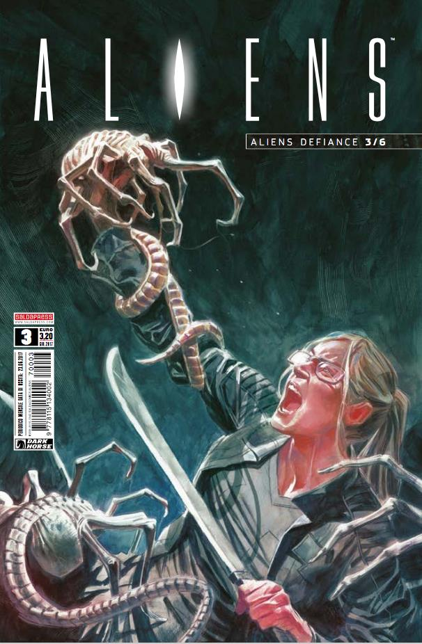 Cover di Aliens: Defiance #3