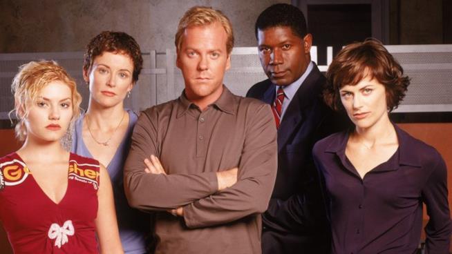 Il cast della prima stagione di 24