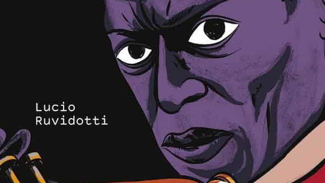 La copertina della biografia a fumetti su Miles Davis