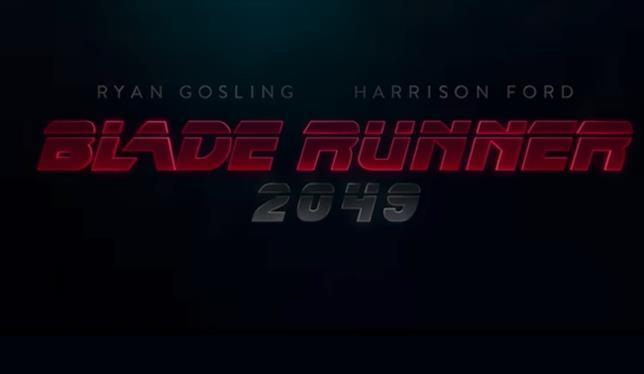 Logo del film Blade Runner 2049
