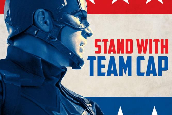 Steve Rogers ti vuole in Team Captain America