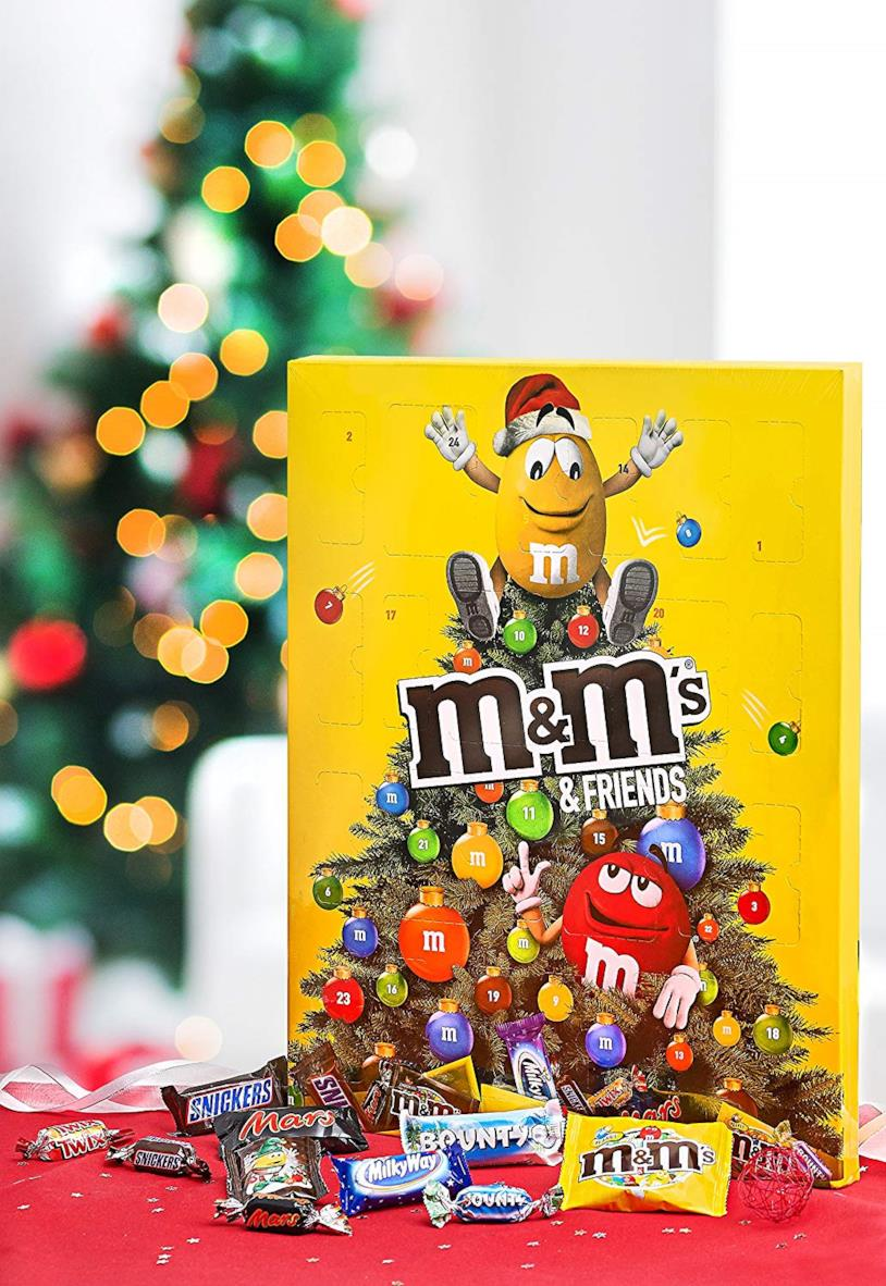 Il calendario dell'avvento di M&M's