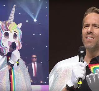 Ryan Reynolds travestito da unicorno non è adorabile?
