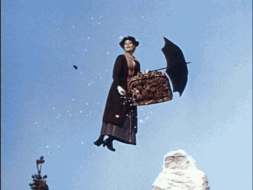 Mary Poppins in cielo