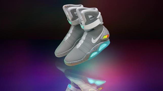 Le Nike Air Mag sono le scarpe autoallaccianti di Marty in Ritorno al Futuro 2