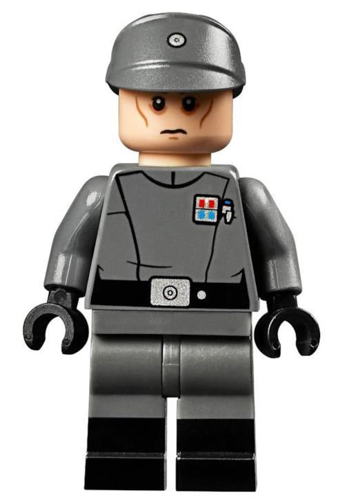 Gli omini del set hanno la divisa dell'Impero