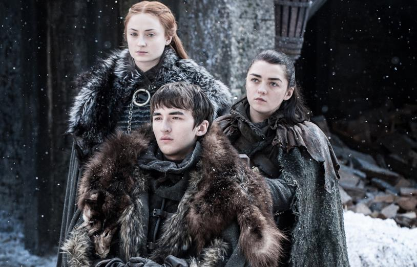 Gli Stark superstiti in Game of Thrones 8