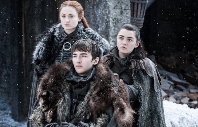 Gli Stark di nuovo a Grande Inverno in uno scatto da Game of Thrones 7